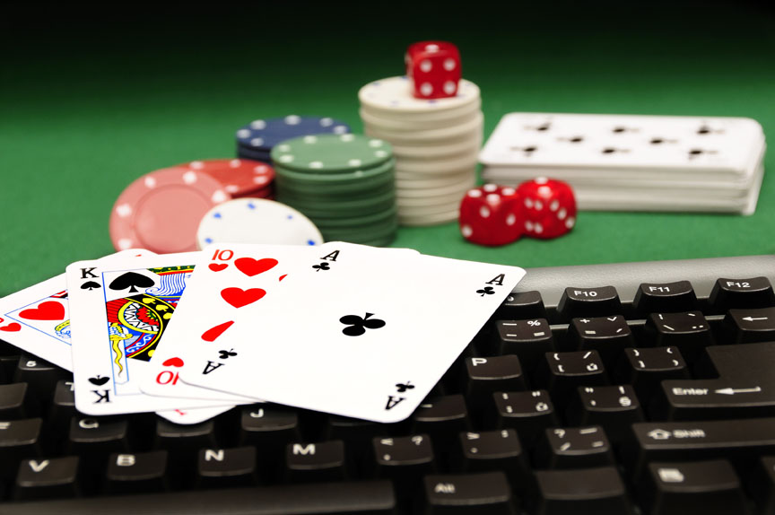 casino cards and chips