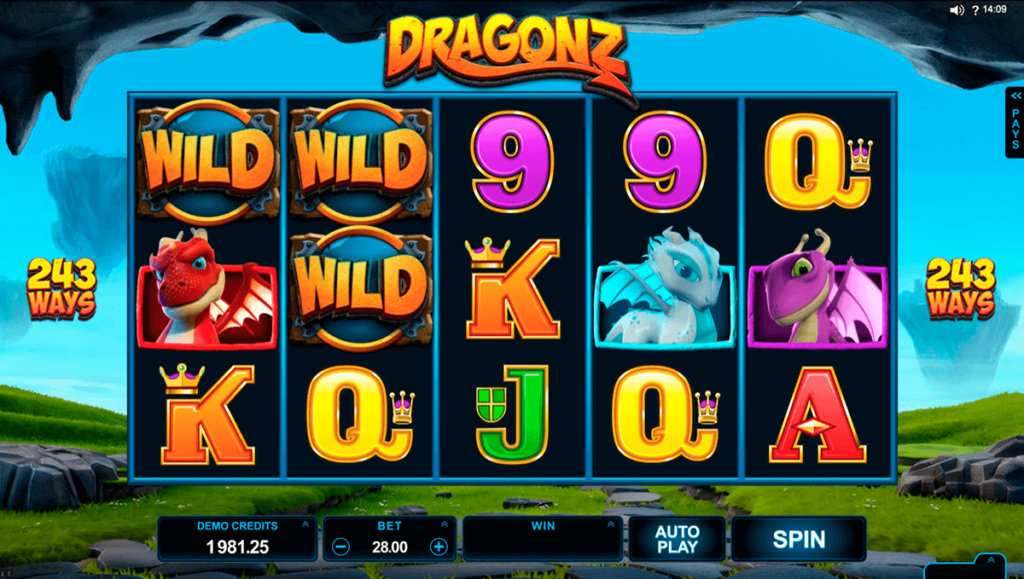 features of slots