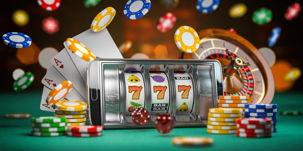 Casino slot machine software